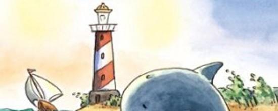 Uebe+Ein-Delfin-in-Seenot